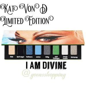 KAT VON D I Am Divine Eyeshadow Palette LTD BNIB